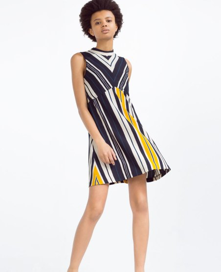A-Line Striped Dress £29.99 from Zara