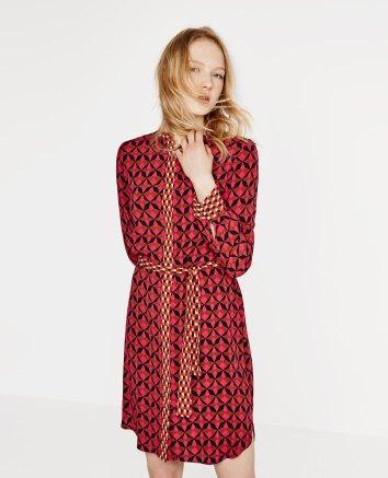 Contrast Print Tunic £39.99 from Zara