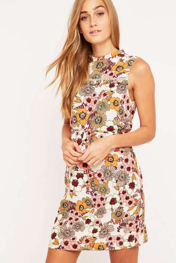 Frill Detail Floral Dress £39 from Urban Outfitters
