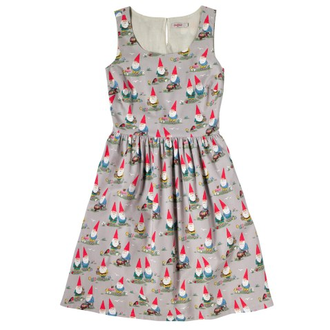 Garden Gnomes Sleeveless Dress £55 from Cath Kidston