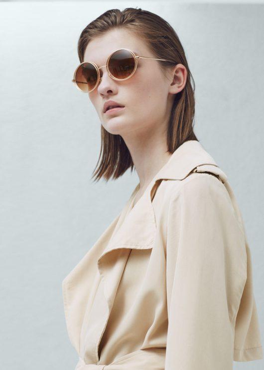 Rounded sunglasses | Mango | She and Hem