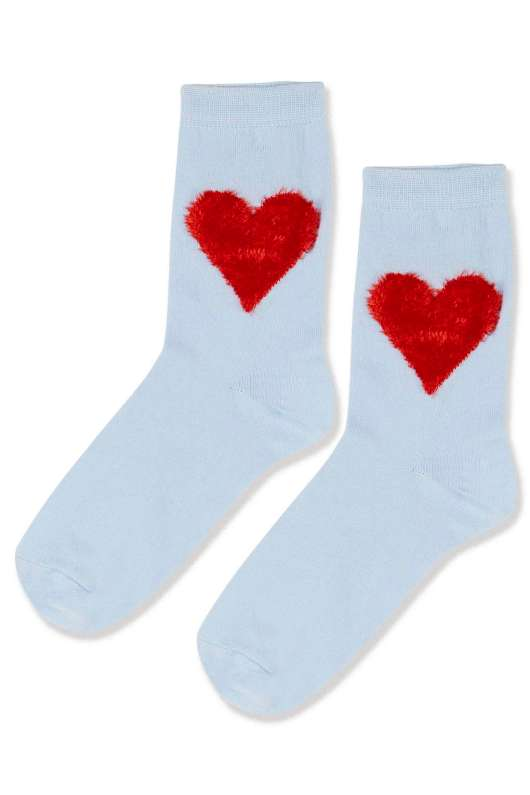 Accessories to Murder | She and Hem | Valentine's Day | Heart Socks