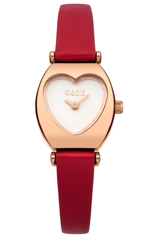 Accessories to Murder | She and Hem | Valentine's Day | Heart Watch