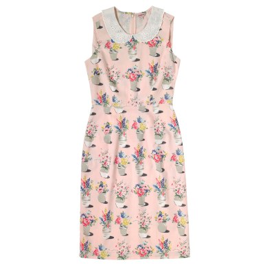 Flower Pots Broderie Collar Cotton Dress £65 from Cath Kidston