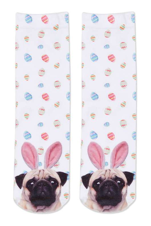 Accessories to Murder #25 Easter Special | Pug Topshop Socks | She and Hem