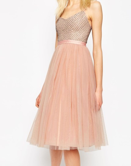 Coppelia Embellished Ballet Tulle Dress £130 by Needle & Thread at ASOS