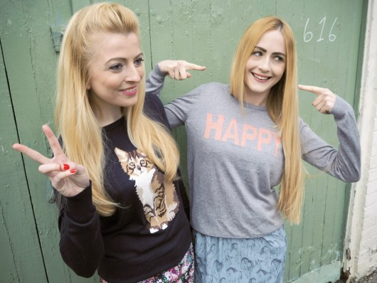 We're so HAPPY!   Sugarhill Boutique Spring Fashion   She and Hem