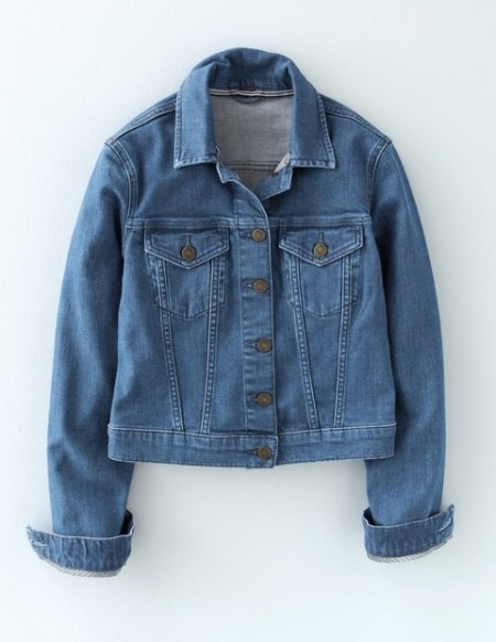 Accessories to Murder #28 | She and Hem | Boden Denim Jacket