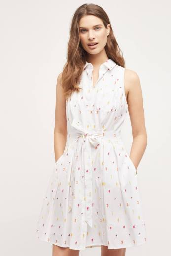 Double Thumbs Dresses #79 | Paleta Embroidered Dress £128 from Anthropologie