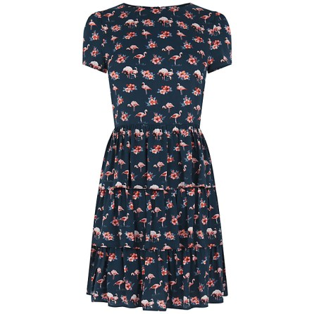 She and Hem   Flamingo Print Dress £45 from Oasis
