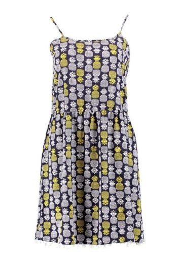 She and Hem | Pineapple Print Strappy Dress £12 from Boohoo