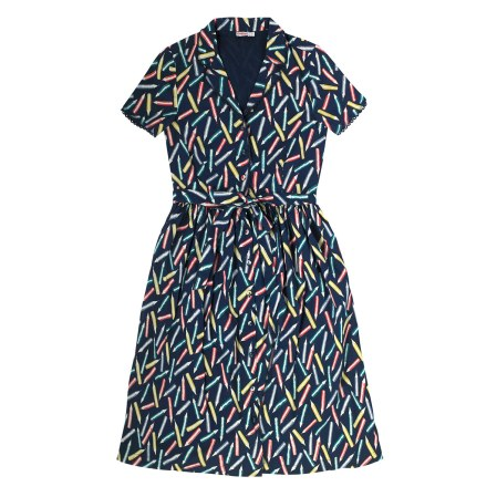 She and Hem | Pencils Cotton Button Through Shift Dress £65 from Cath Kidston