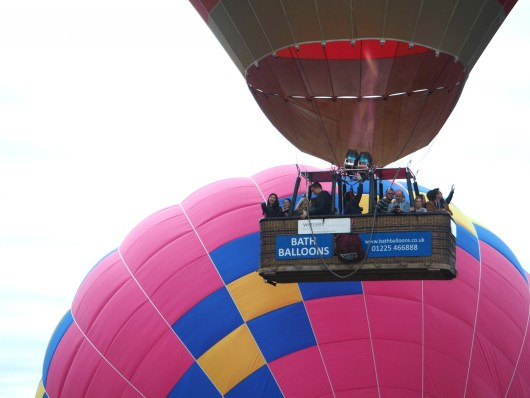 Ballooning Marvelous at Bristol International Balloon Fiesta | She and Hem