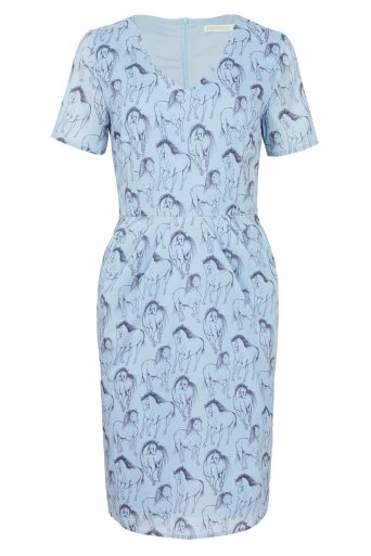 Double Thumbs Dresses #86 | Gayna Running Horse Shift Dress £29 (Reduced from £54) from Sugarhill Boutique