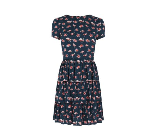 Double Thumbs Dresses #86 | Flamingo Print Dress £20 (Reduced from £45) from River Island