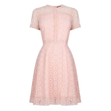 Double Thumbs Dresses #86 | Mixed Lace Prom Dress £45 (Reduced from £79) from Warehouse