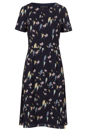 Maya Bright Birdie Fit And Flare Dress £54 by Sugarhill Boutique at House of Fraser