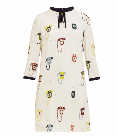 Javah Telephone Print Shift Dress £149 from Ted Baker at House of Fraser