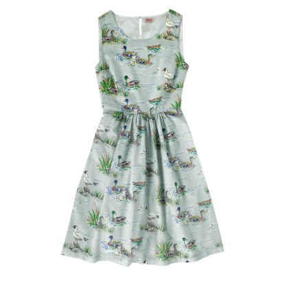 DUCK POND GATHERED WAIST DETAIL DRESS £60 from Cath Kidston