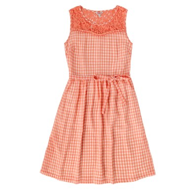 GINGHAM AND LACE DRESS £75 from Cath Kidston