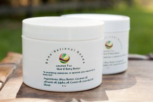 Coconut Tea hair & body butter