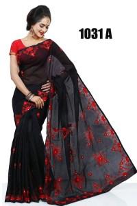 অর্ডার করুন পিউর মসলিন শাড়ি - চারুলতা ফ্যাশন - Charulota Fashion