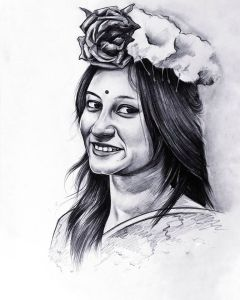 Make Your Beautiful Portrait By Professionals - Pencil & Paper