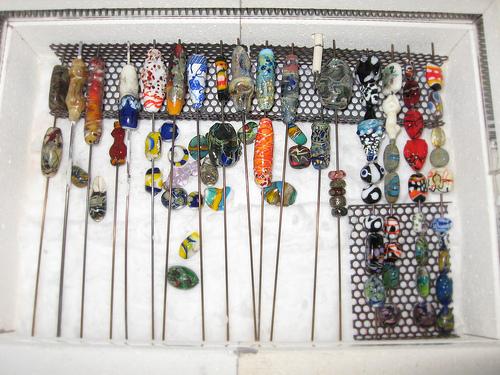 beads in thekiln