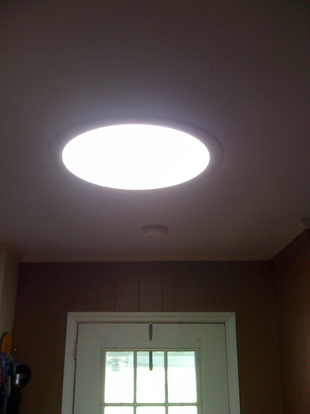 Solar Tunnel fixture in our laundry room