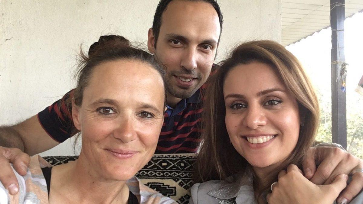 Wiedersehen mit Navid und Saeedeh in Rasht. (Bild: Selfie)