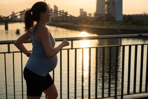 Running During Pregancy and the pressure it puts on the pelvic floor