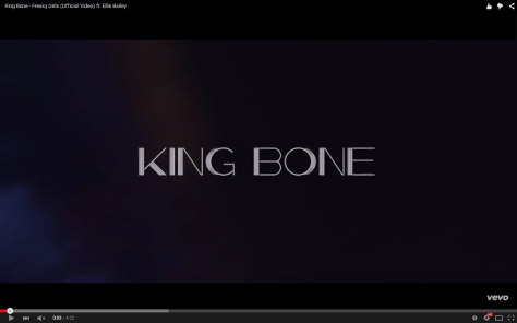 Video: King Bone - Freaky Girls Featuring Ellis Bailey