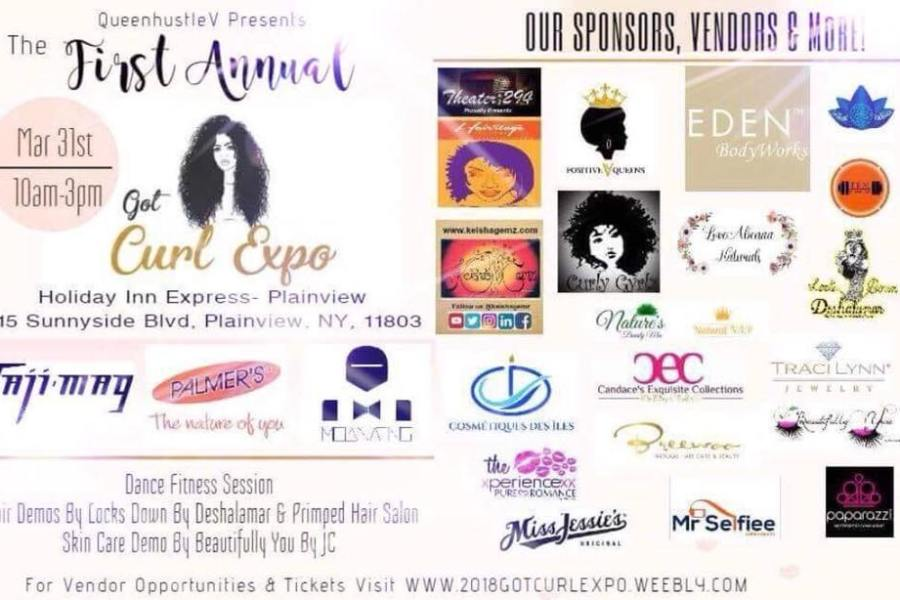 QUEEN HUSTLE V PRESENTS THE 1ST ANNUAL GOT CURL EXPO