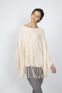Brave + True label cream jumper with tassels. Photo: Flaunter