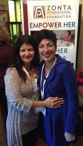 Amena Reza and Lisa Newman