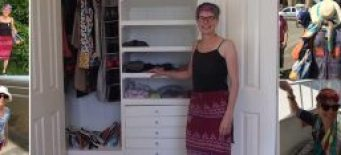 THE FIFTY THINGS IN MY WARDROBE by Pamela Greet  My daughter enjoyed living from a backpack; she said she would shrink her wardrobe to two outfits when she got home. I was inspired [...]