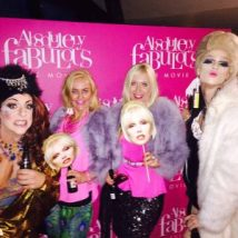 Fabulous darling with the Ab Fab hosteseses