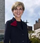 Foreign Minister, Julie Bishop