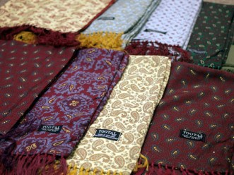 Tootal scarves, church street hereford, calandras