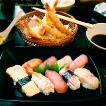 Dinner at Suzu-kin