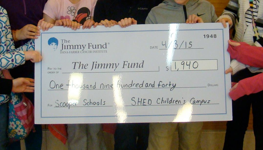 Check to the Jimmy Fund