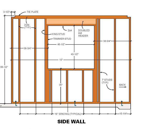 Two Storey Shed Plans Amp Blueprints For Large 10 215 10 Gable Shed