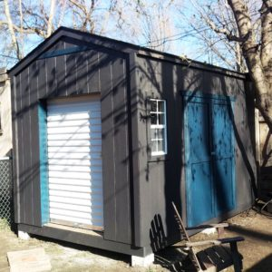 8'x12' Cottage Workshop Shed Wooden