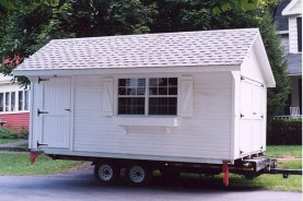 Shed delivery
