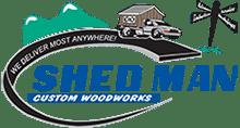 Shed Man logo