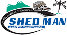Shed Man logo