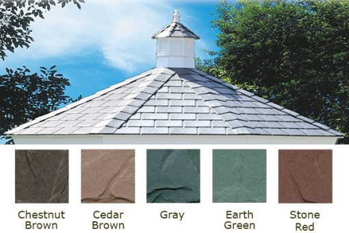 Slate-Look Composite Roof