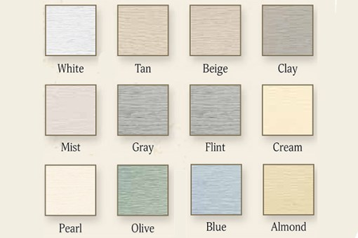 Vinyl Shed Siding Colors