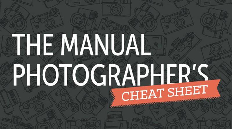 THE MANUAL PHOTOGRAPHER'S CHEAT SHEET