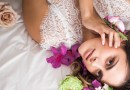 Bridal Flower Themed Boudoir Shoot